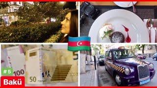 AZERBAYCAN BAKÜ'DE 17. SON GÜNÜM - ODA TURU / BAKÜ'DE MARKET ALIŞVERİŞİ / Travel Vlog 5