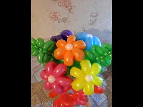 Букет из шаров Три ромашки
