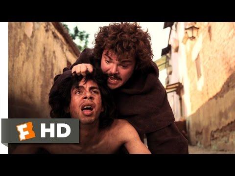 Nacho Libre (2/10) Movie CLIP - Meeting Esqueleto (2006) HD