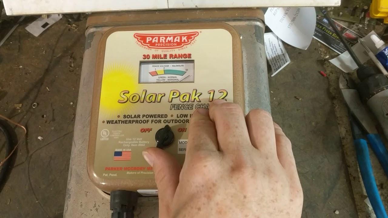 medium resolution of parmak fence energizer repair