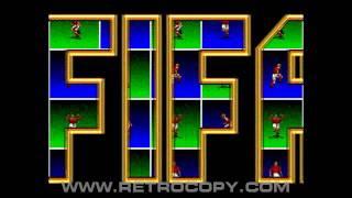 FIFA Soccer 96 (Sega Genesis / Mega Drive) Intro