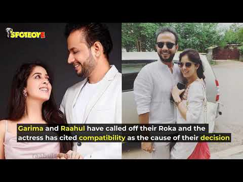 Shocking! Garima Jain Calls Off Her Roka With Raahul Sarraf Within Three Months   SpotboyE