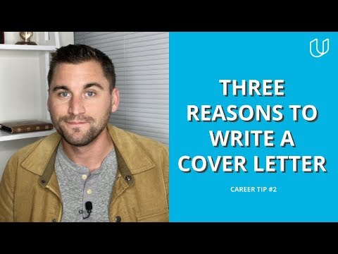 3 Reasons To Always Write A Cover Letter Udacity Career Tip 2