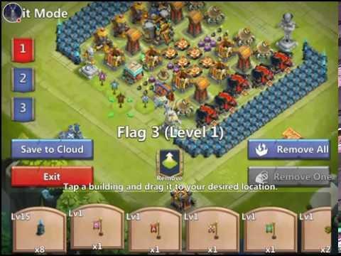 Castle Clash: Building A Guild Wars Base For TheGamingBiscuit!