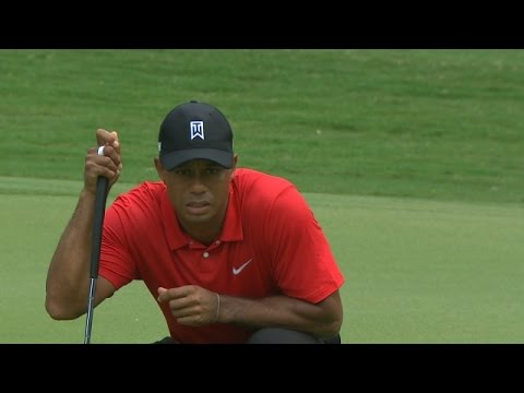 Tiger Woods grinds out even-par 72 in Round One of Farmers Insurance Open