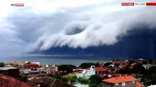 A Storm Is Coming: 'Tsunami Cloud' Off Bondi Beach