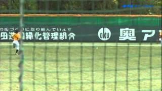 兵庫ブルーサンダーズ 小松原鉄平  3ベースヒット  2012/5/3