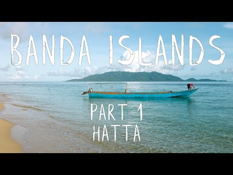 BANDA ISLANDS, INDONESIA - PT 1: SNORKELLING, FISHING, AND A LOCAL WEDDING ON HATTA - VLOG#11