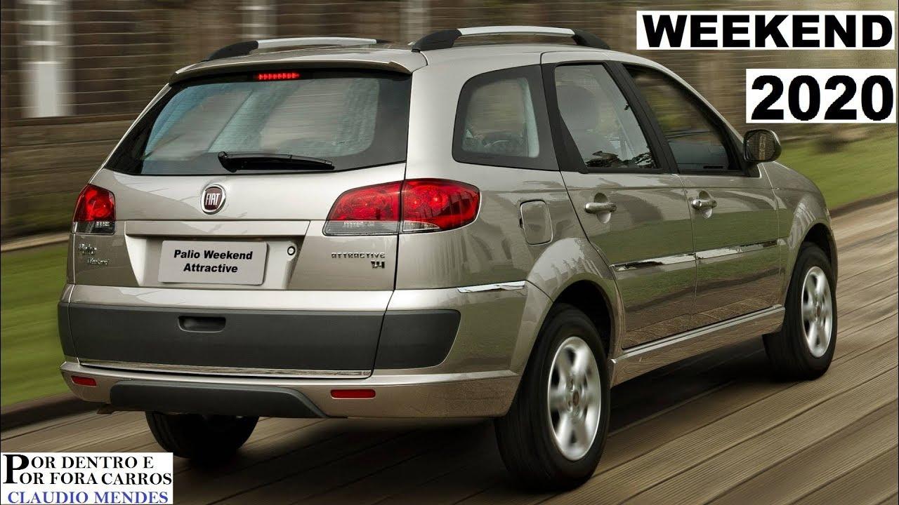 Fiat Weekend 2020 Cores Preços Versões Youtube