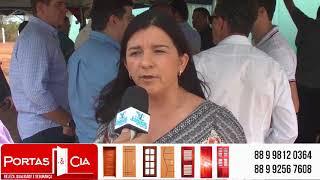 Marta Inês ressalta a importância do posto de recolhimento para os produtores
