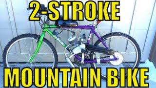 2-Stroke Mountain Bike! DIY (Amazon)