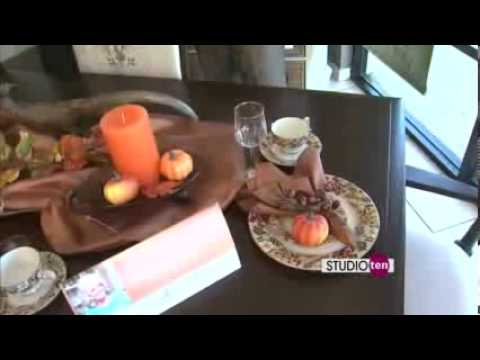 Thanksgiving Dining Room  Decorating Tips - (w/ BarrowFurniture)