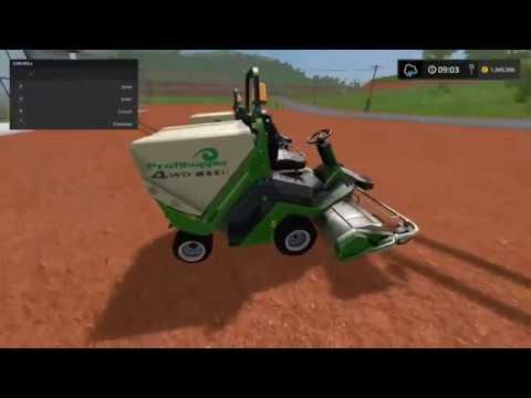 1cfd0ba0646 Farming Simulator 17 New Amazone Profihopper 2017 edition Lawn Mower new  mods added