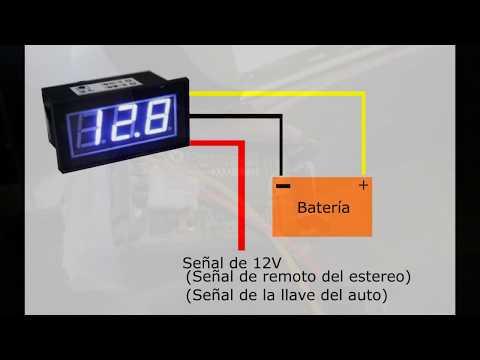 como-conectar-un-medidor-de-voltaje--explicación--diagrama-de-conexión