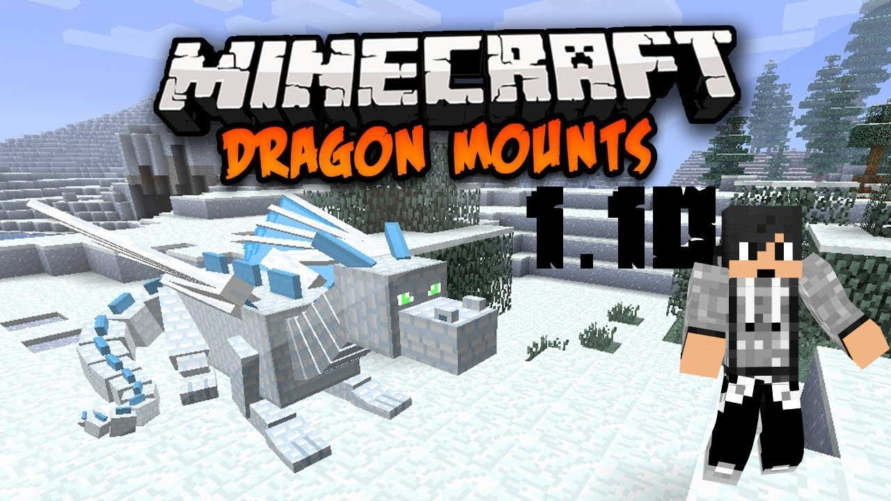 Minecraft Dragon Mounts Mod Ice Fire Forest Ghost
