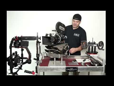 CineMilled presents - Alpha Wheels gimbal control. Precision control for Ronin, MoVI & Tilta gimbals