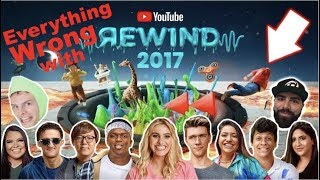 Everything WRONG with YOUTUBE REWIND 2017
