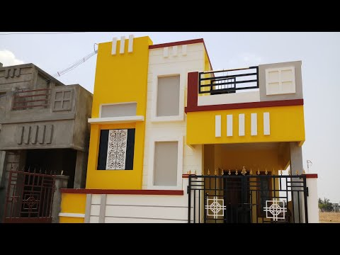 2 BHK 2 BEDROOM INDIVIDUAL HOUSE VILLA FOR SALE IN VEPPAMPATTU CHENNAI