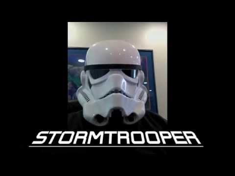 Stormtrooper Helmet SOUND TEST