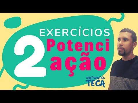 2 Exercícios de Potenciação