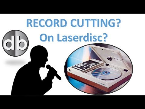 Recording Sound onto a Laserdisc - will it work?  Record Cutting