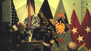 General Hal Moore and Sergeant Major Plumley