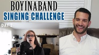 SINGING TEACHER reacts to BOYINABAND's 30 day singing challenge