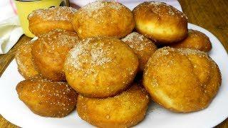 Главное не увлечься! Воздушные пончики с лимонным ароматом и вкусной начинкой