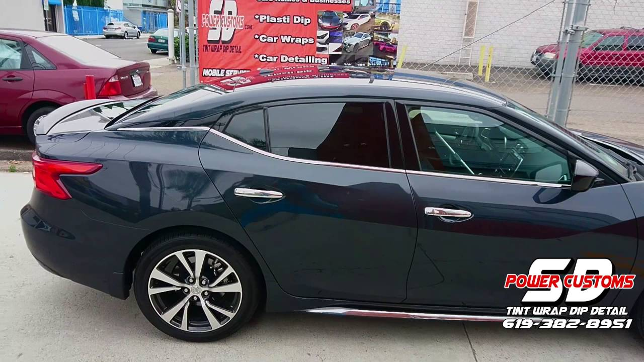 California Window Tint >> 2016 Maxima Rear Window Tint Windows Limo Tint Window Tint In San