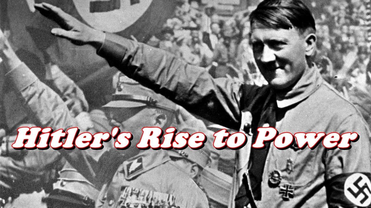 the history of adolf hitler and the nazis rise to power in germany It is one of history's most troubling questions – how did adolf hitler manage to gain power and popularity in germany looking at the.