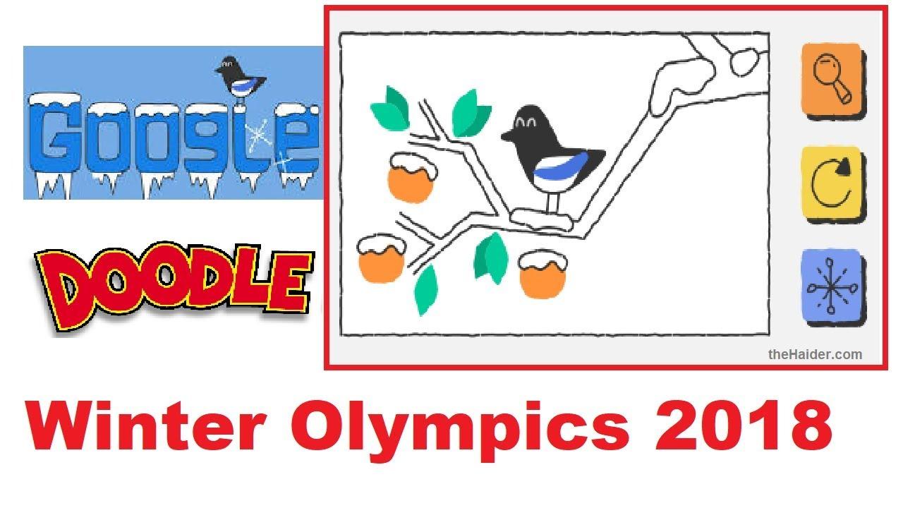 Amazing Google Doodle Winter Olympics 2018 Youtube