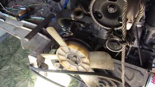 Установка двигателя ВАЗ НА ЛуаЗ 969