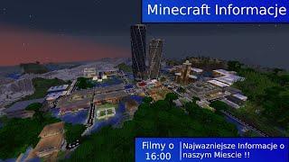 M_Info #1 |Najnowsze Informacje o świecie Minecraft! Budowa worldtwocenter?
