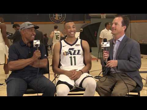 Dante Exum at Utah Jazz's 2017 media day