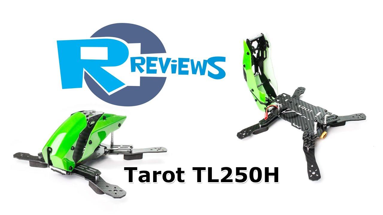 RcReviews: Tarot TL250H racer - semi Carbon frame - from BangGood