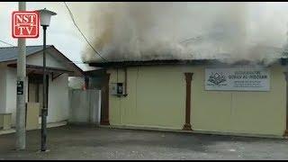 Fire razes makeshift dormitory of Dengkil tahfiz school