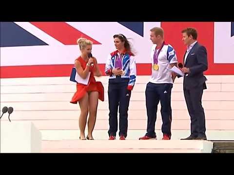 Helen Skelton Rio Olympics 2016 Host Wardrobe Malfunction