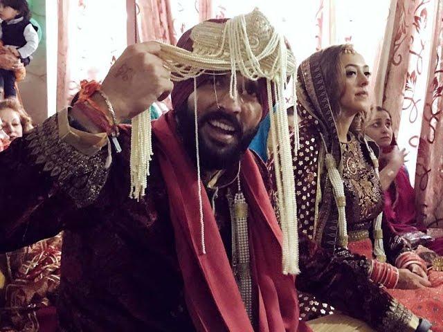Cricketer Yuvraj Singh and  Hazel Keech got married