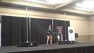 Great Midwest Pole Dance Competition Rookie 3rd place