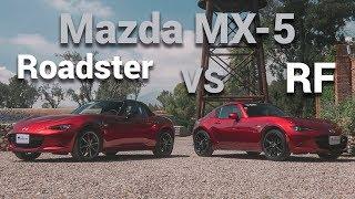 Mazda MX-5 VS Mazda MX-5 RF - ¿Cuál es mejor? | Autocosmos Video