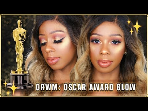 GRWM: Oscar Award Glow, Thoughts on Black Panther, Get Out Movie Nominated?