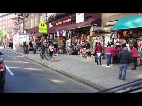 NEW YORK'S CHINATOWN / LOWER MANHATTAN