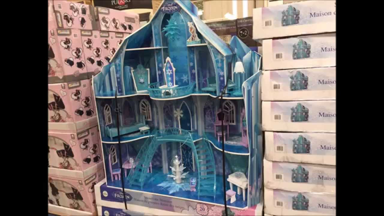 Great Castle Dollhouse Furniture #5: Disney FROZEN Snowflake Mansion - Dollhouse - Includes 20 Pieces Of  Furniture