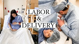 My UNEXPECTED Labor & Delivery Story *Didn't go as planned*