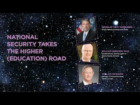 CCAM 2016 Symposium: National Security Takes the Higher (Education) Road