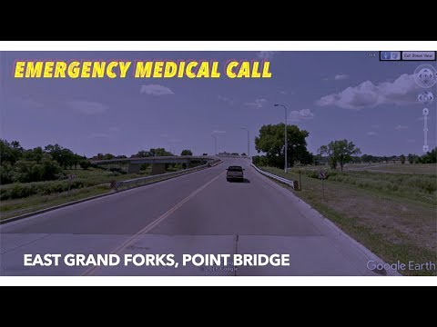 Wednesday Night Emergency Call On East Grand Forks Point Bridge