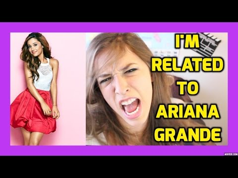 How I'm Related To Ariana Grande!