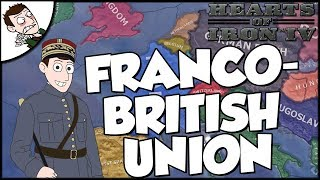Hearts of Iron 4 HOI4 The Dawn of the Franco-British Union