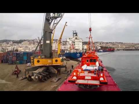 Transportation of Rescue Boats on board mv Noordvliet from Norway to Algeria.