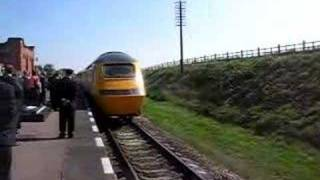 Hybrid HST on test at the Great Central Railway
